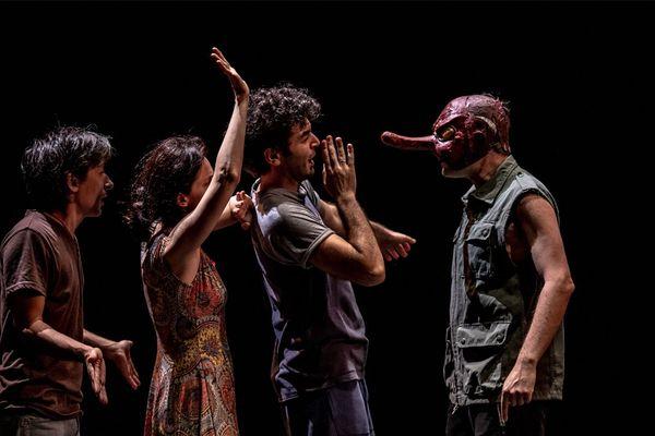 La Ballata di Johnny e Gill nouvelle création de Fausto Paravidino au Liberté, scène nationale de Toulon du 8 au 10 novembre 2018.