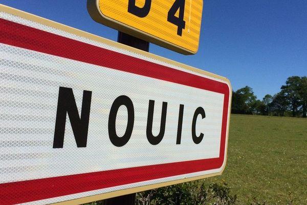 Itinéraire bis à Nouic en Haute-Vienne
