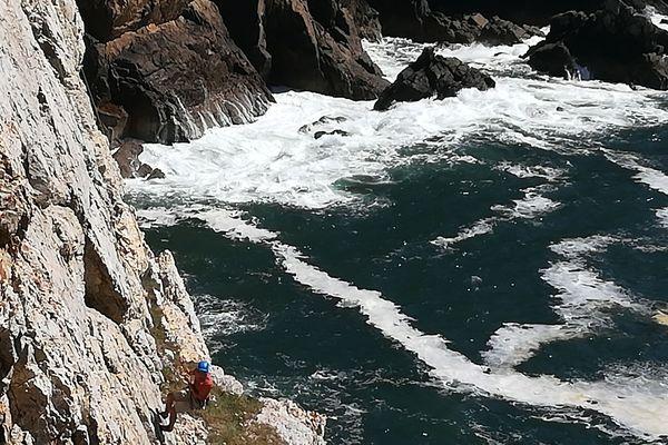 Avec le déconfinement et le beau temps, les grimpeurs ont réinvesti les voies en extérieur