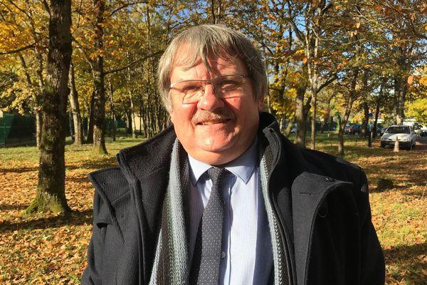 Gilles Lepeltier, maire de Lion-en-Sullias (Loiret)