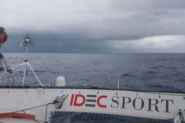 l'équipage rentre à Brest et espère repartir bientôt