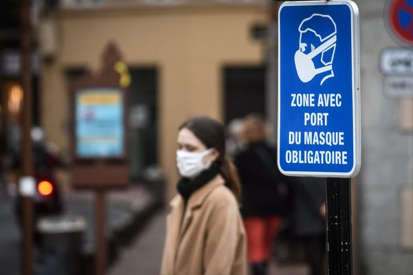 Le port du masque est obligatoire en Aveyron depuis le mois d'août.