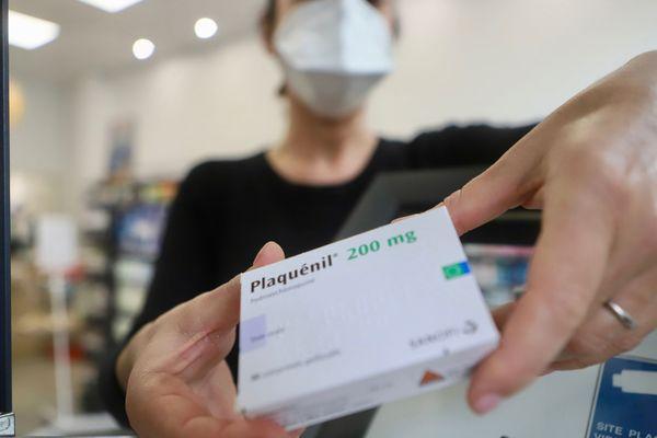 Le Plaquenil, l'un des médicaments à base de la molécule, qui sert habituellement aux malades du lupus ou de polyarthrite rhumatoïde