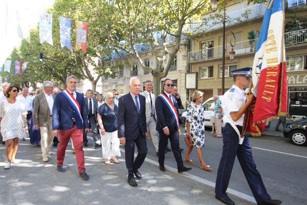 Le long de l'avenue Victor Hugo, à Sète le lundi 22 août.