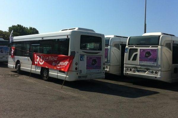 ARCHIVES - Grève aux TCA, la circulation des bus paralysée à Ajaccio