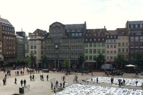 Inside Out, Place Kléber à Strasbourg