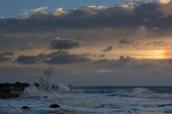 Lesconil (Finistère), ce dimanche 10 février 2019