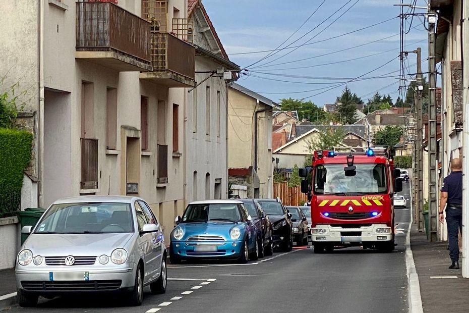 Limoges : un appartement détruit par un incendie