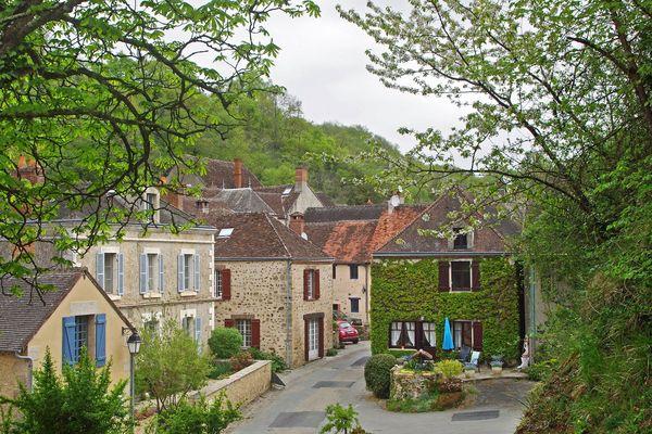 Le village de Gargilesse-Dampierre dans l'Indre