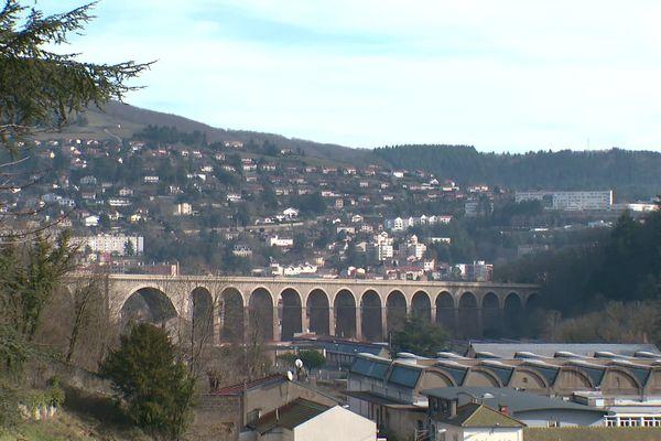 La commune de Tarare, dans le Rhône. C'est dans cette ville que Julien Bataille a grandi. Il est jugé devant le tribunal correctionnel de Paris, le 21 et 22 janvier pour association de malfaiteurs en lien avec une entreprise terroriste.