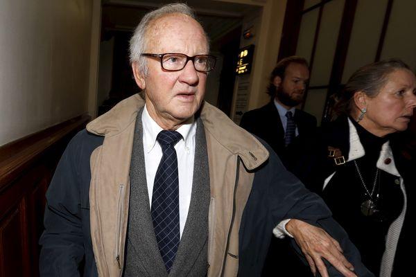 Pierre Pallardy arrivant à son procès le 1er octobre 2013.