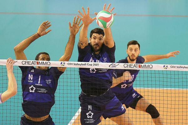 Le club de volley héraultais Montpellier Castelnau UC affronte les joueurs russes du Dynamo de Moscou jeudi 4 mars à 19 heures pour la demi-finale retour de la Coupe d'Europe CEV 2021.