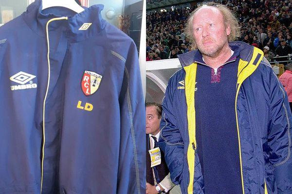 Cette parka a été mise aux enchères par le RC Lens et les supporters du club