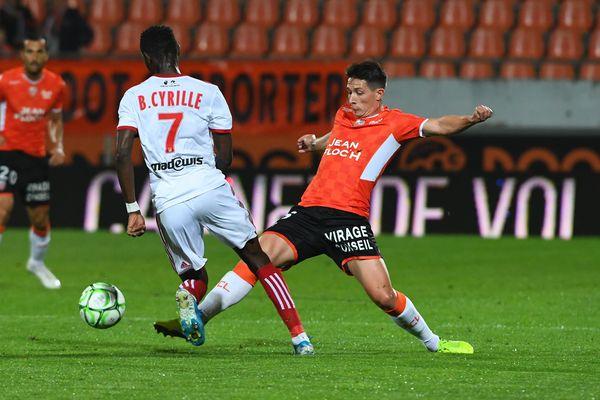 ILLUSTRATION - L'AC Ajaccio, face à Lorient, le octobre dernier (0-0)
