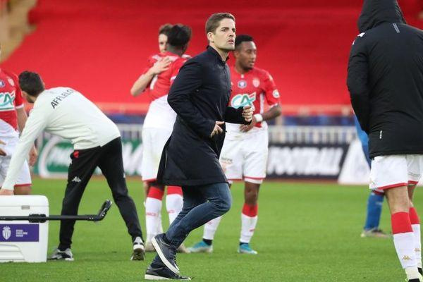 Robert Moreno a joué son premier match en tant qu'entraîneur de l'AS Monaco, ce samedi 4 janvier 2020.
