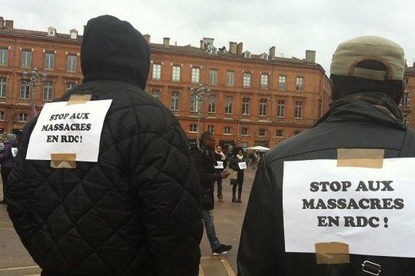 Ils manifestaient leur colère contre les massacres de Kinshasa.