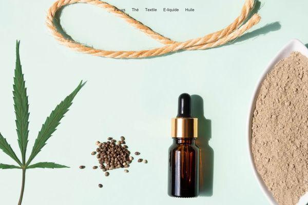 Sur le site internet de My Chanvre, on trouve tisanes, sacs ou huiles à base de chanvre.