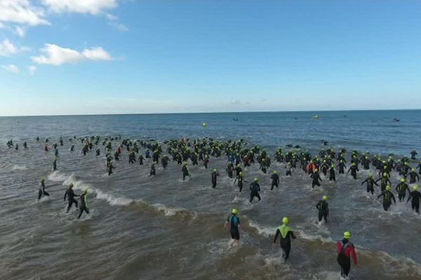 Le 32e triathlon de Saint-Jean-de-Monts (Vendée).
