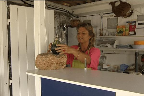 Avec la spiruline, Marie-Gabrielle Capodano voit la vie en vert