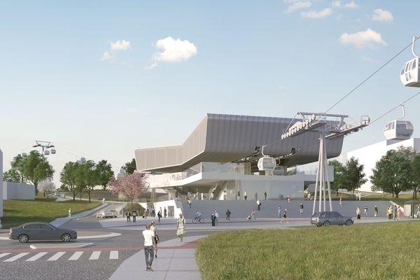 Le projet du Téléphérique Câble A sera le premier en Île-de-France.
