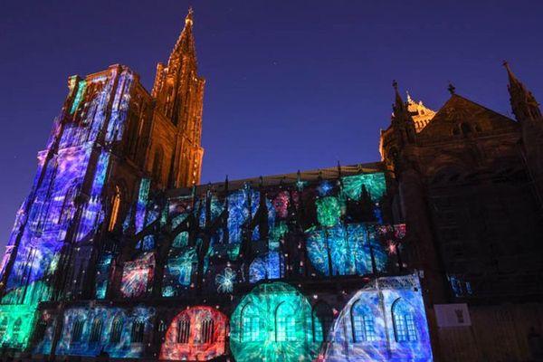 Mise en lumière et musique sur la Cathédrale maintenu, mais avec cinq fois moins de spectateurs