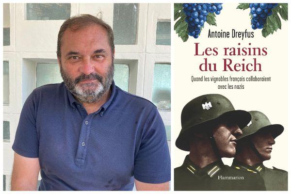 """Le journaliste Antoine Dreyfus, auteur de l'enquête """"Les Raisins du Reich"""", paru le 8 septembre chez Flammarion."""