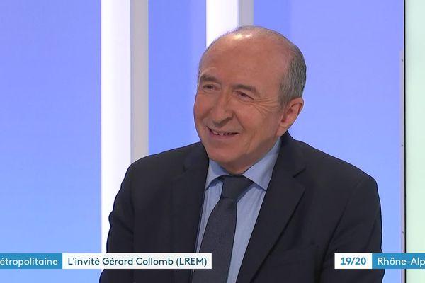 L'ancien président de la Métropole lyonnaise revendique le bilan de l'agglomération, présidé depuis 2 ans par son adversaire David Kimelfeld.