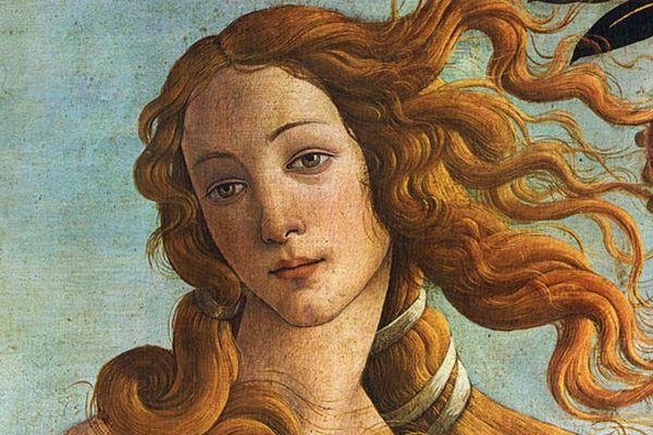 La naissance de venus de Botticelli peinte vers 1484-1485, représente la beauté de la femme avec une opulente chevelure mais sans aucun autre poil sur le corps