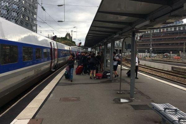 Aucun train entre Rennes et Vitré ce mardi matin, la SNCF a mis en place des solutions de remplacement