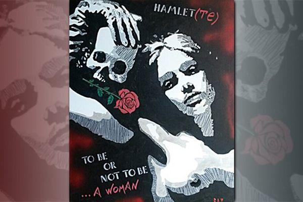 """""""To be or not to be... a woman"""", exposition de l'artiste Béatrix Vincent à la maison pour tous Marcel Pagnol de Montpellier à l'occasion de la Journée internationale de la Femme le 8 mars 2016."""