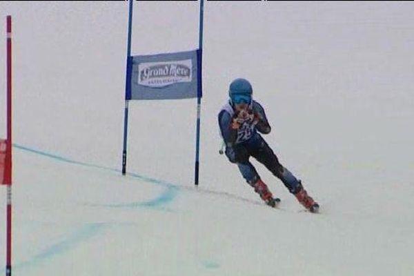 Grand prix international d'Alsace de ski au Lac Blanc