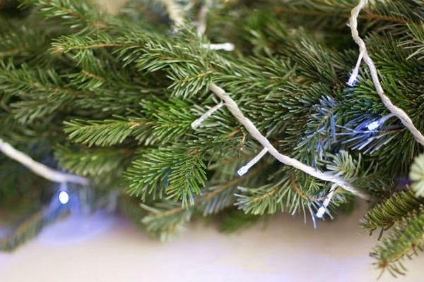 Les guirlandes électriques représentent un risque d'incendie pendant les fêtes.
