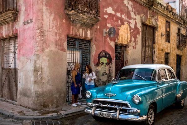 Dans la rue à La Havane