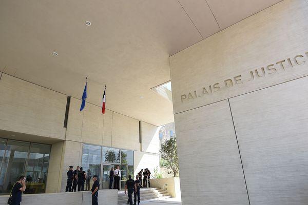 Le palais de justice de Béziers, dans l'Hérault