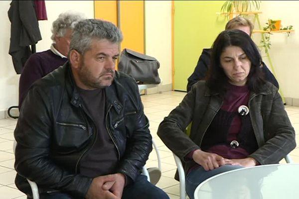 Hisni Djyriqi (à gauche) et Mariola Djyriqi (à droite) sont arrivés en France il y a 6 ans.