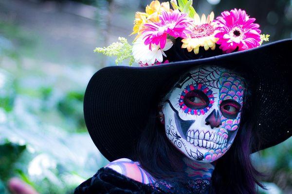"""Au Mexique, on célèbre les morts le 2 novembre à l'occasion de """"Día de muertos"""""""