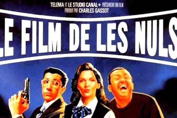L'affiche du film tourné par les Nuls à Cannes.