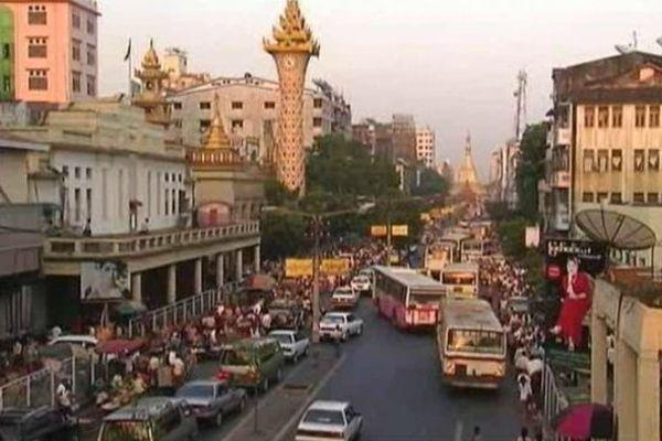 Rangoon, capitale économie de la Birmanie