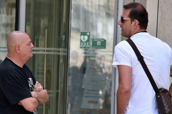 Le buraliste Nicolas Gillet,considéré comme un des pivots de l'affaire des paris truqués du MHB avec le joueur serbe Mladen Bojinovic.