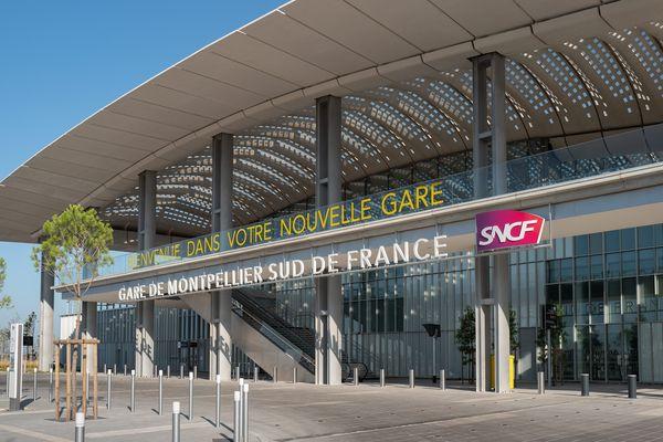 La gare Sud de France a ouvert ses portes au public le 7 juillet 2018.
