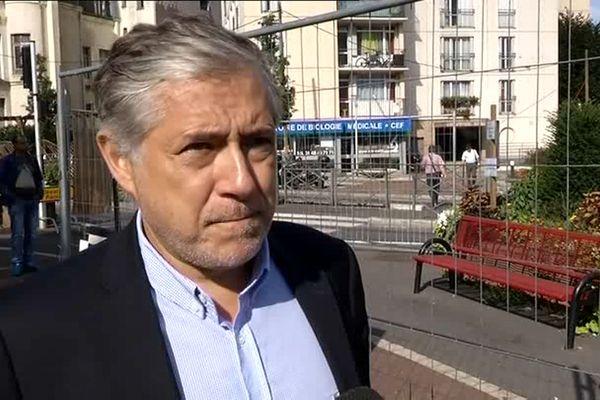 L'ancien maire de Noisy-le-Sec (Seine-Saint-Denis) filmé en 2015.