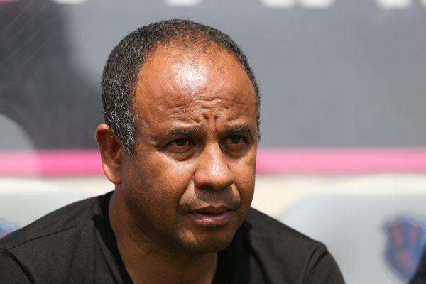 "Jean Tigana lors d'un match amical de ""Génération 98""."