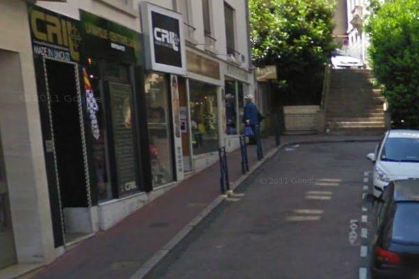 Braquage jeudi 17.01 de la boutique CRIL de Limoges