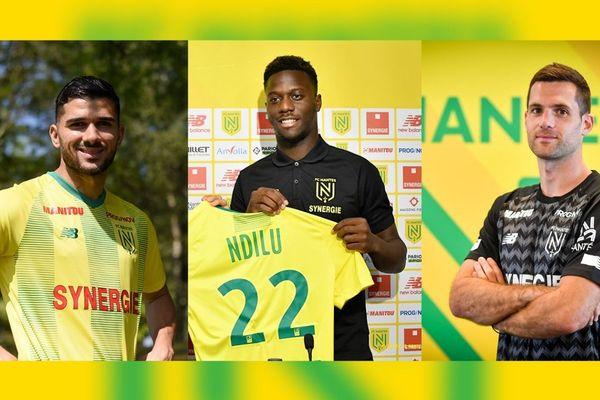 Mehdi Abeid, Brige Ndilu et Denis Petric rejoignent le FC Nantes pour cette saison.
