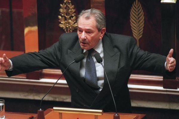 Michel Crépeau en 1998 à l'Assemblée Nationale