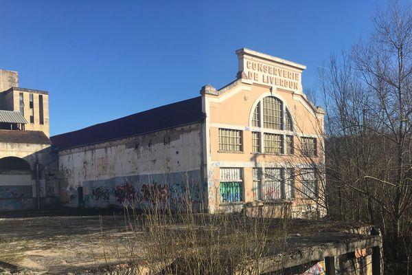 Le site industriel Lerebourg, en friche à Liverdun (Meurthe-et-Moselle).