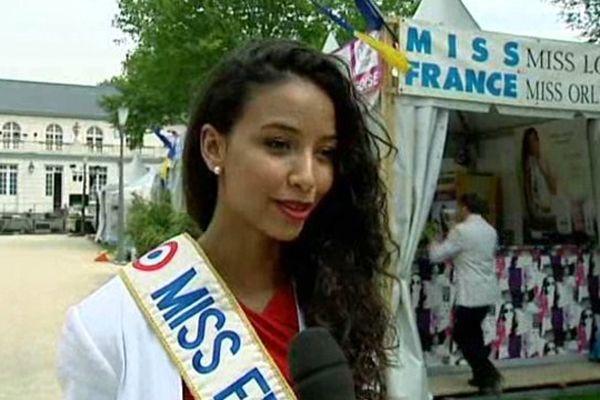 Flora Coquerel aux fêtes de la Madeleine à Montargis (Loiret) - 19 juillet 2014