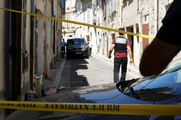 L'adolescent a été tué dans le centre-ville de Tarascon, Rue Lubières.