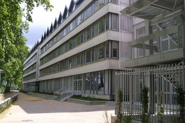 Le site des Tanneurs de l'université de Tours.