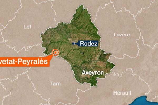 Le drame s'est produit en Aveyron, sur la petite commune de la Salvetat-Peyralès.